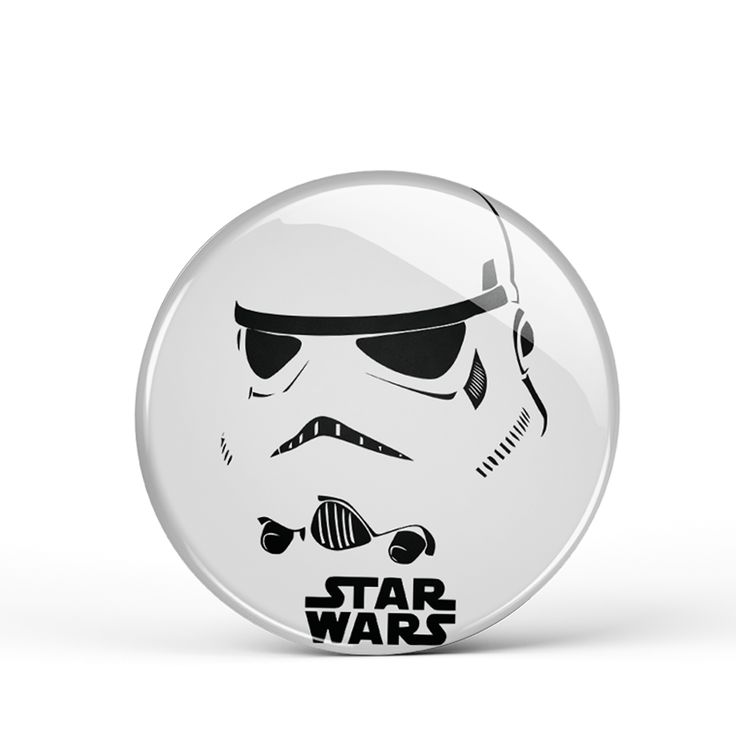 "Storm Trooper 3"" Button"