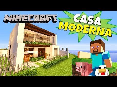 Las 25 mejores ideas sobre casa minecraft moderna en for Casa moderna minecraft tutorial