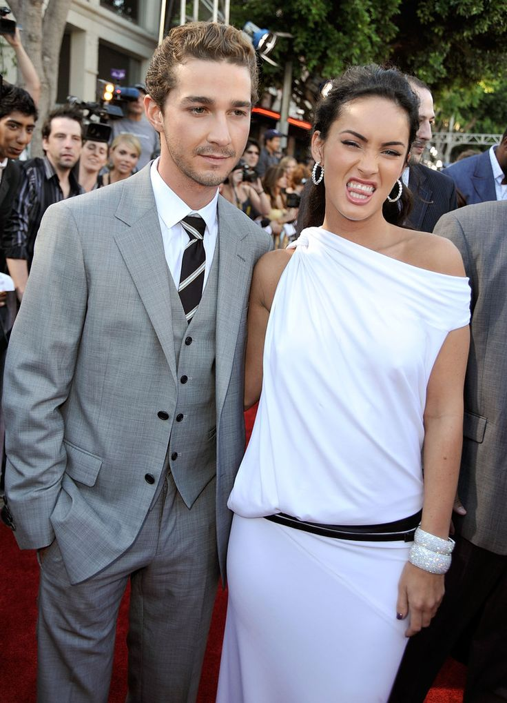"Megan Fox Photos Photos - Actor Shia LaBeouf (L) and actress Megan Fox arrive at the premiere of Dreamworks' ""Transformers: Revenge Of The Fallen"" held at Mann Village Theatre on June 22, 2009 in Los Angeles, California. - Premiere Of DreamWorks ""Transformers: Revenge Of The Fallen"" - Arrivals"
