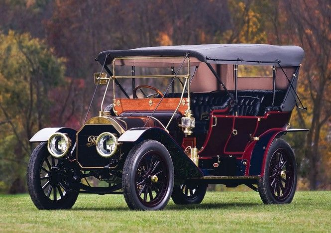 1910 Pierce-Arrow 48-SS Seven-Passenger Touring - (Pierce-Arrow Motor Car Company Buffalo, New York 1901-1938)