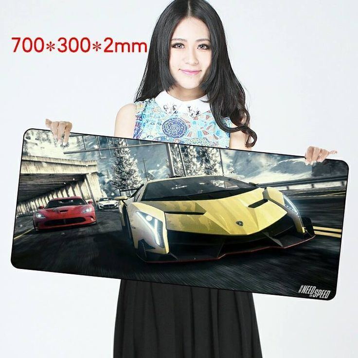 HOT Need For Speed Cars BIG Video Gaming Mouse Mats Pads 700 x 300 Speed Edition #UnbrandedGeneric