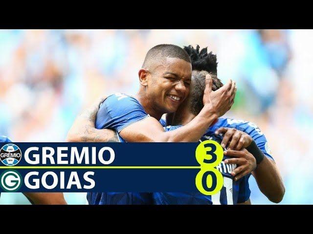 Assistir Aos Gols Lances E Melhores Momentos De Gremio 3 X 0 Goias Campeonato Brasileiro Futebol Stats Campeonato Brasileiro Gol Gremio