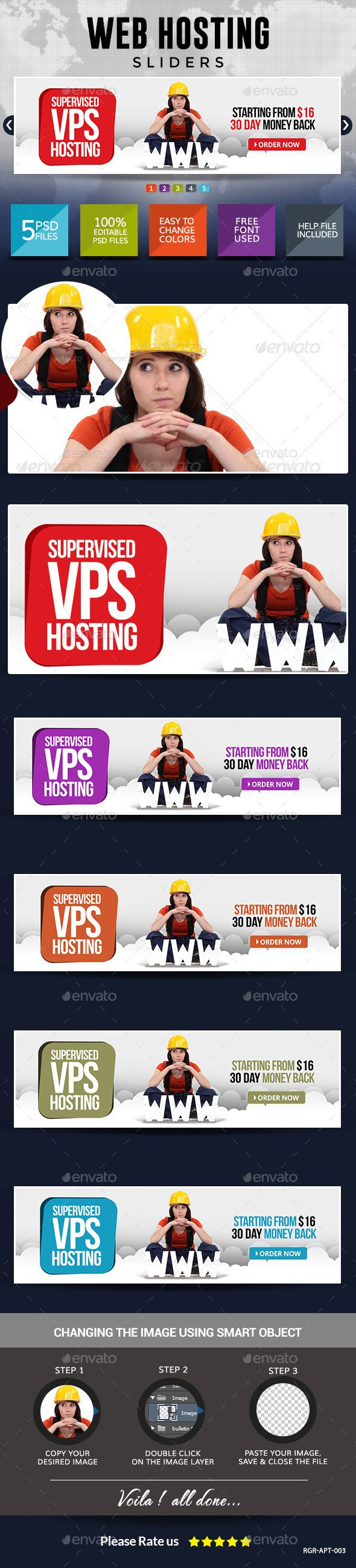 Web Hosting Slider Images Template PSD. Download here: http://graphicriver.net/item/web-hosting-slider-images/8834570?ref=ksioks