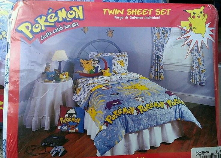 Pokemon Bedroom 1998 Question How Are You Gonna Play That