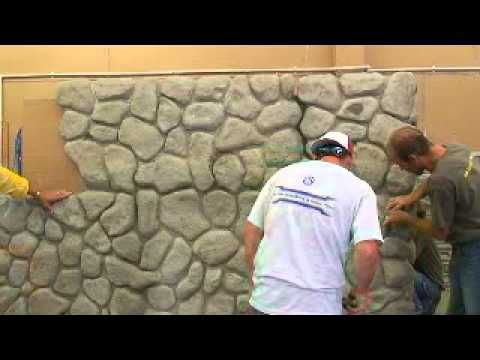 Three day seminar on building with Faux rock - video 2.03 - YouTube