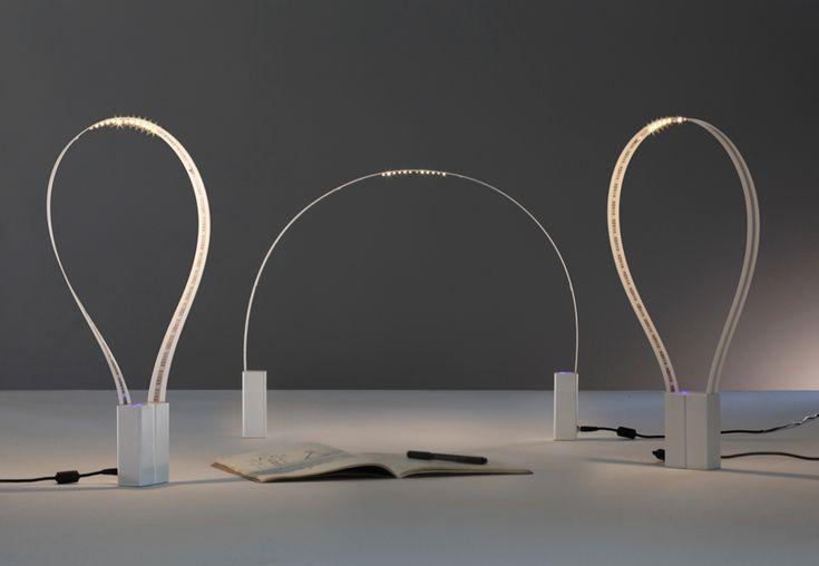 Fluida flexible LED lamp by Studio Natural