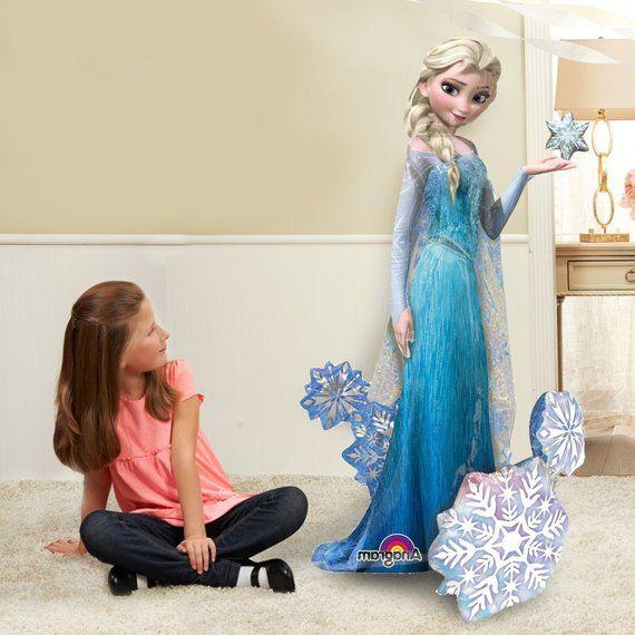 """Disney Frozen Elsa Airwalker 57/"""" Birthday Party Jumbo Balloon Decoration"""