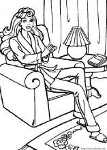 16 best blog: coloring pages--barbie images on pinterest - Coloring Pages Coloring Book Info