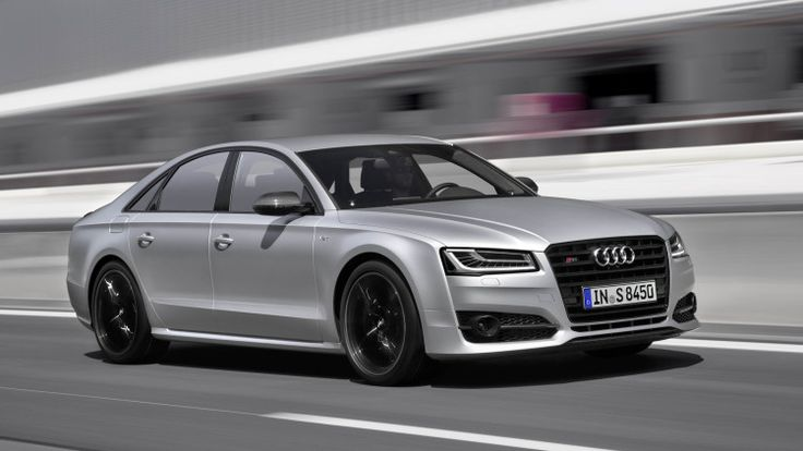 Audi rolls out the new S8 Plus, upgrading on the existing S8 with 605 hp, up to 553 lb-ft of torque, a 3.8-second 0-62 time, and a top speed of 190 mph.