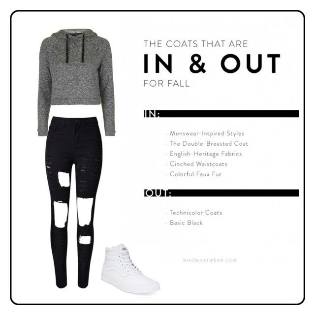 """"""""""" by vensku on Polyvore featuring WithChic, Vans and Topshop"""