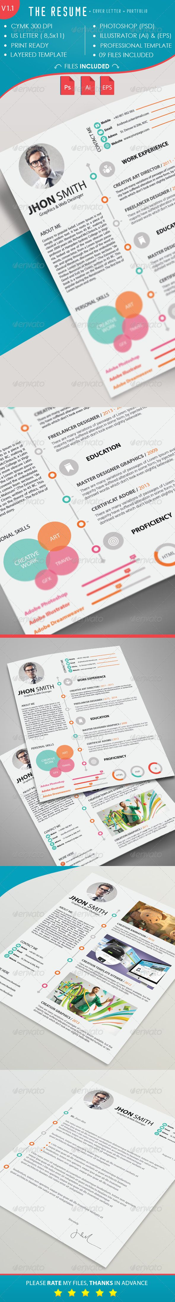 41 best CV images on Pinterest | Resume templates, Cv template and ...