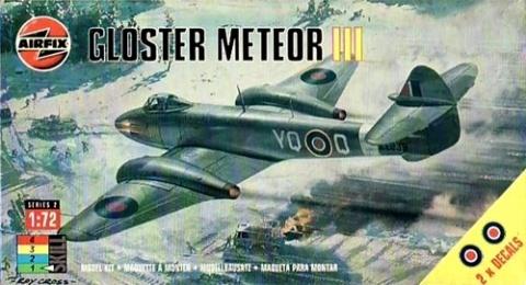 Gloster Meteor, Airfix