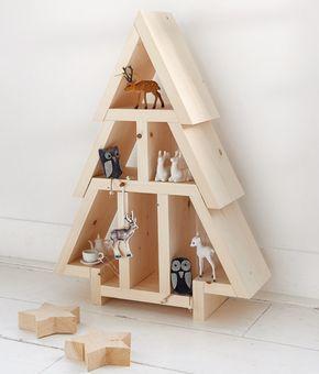 Maak jouw kerstboom van steigerhout