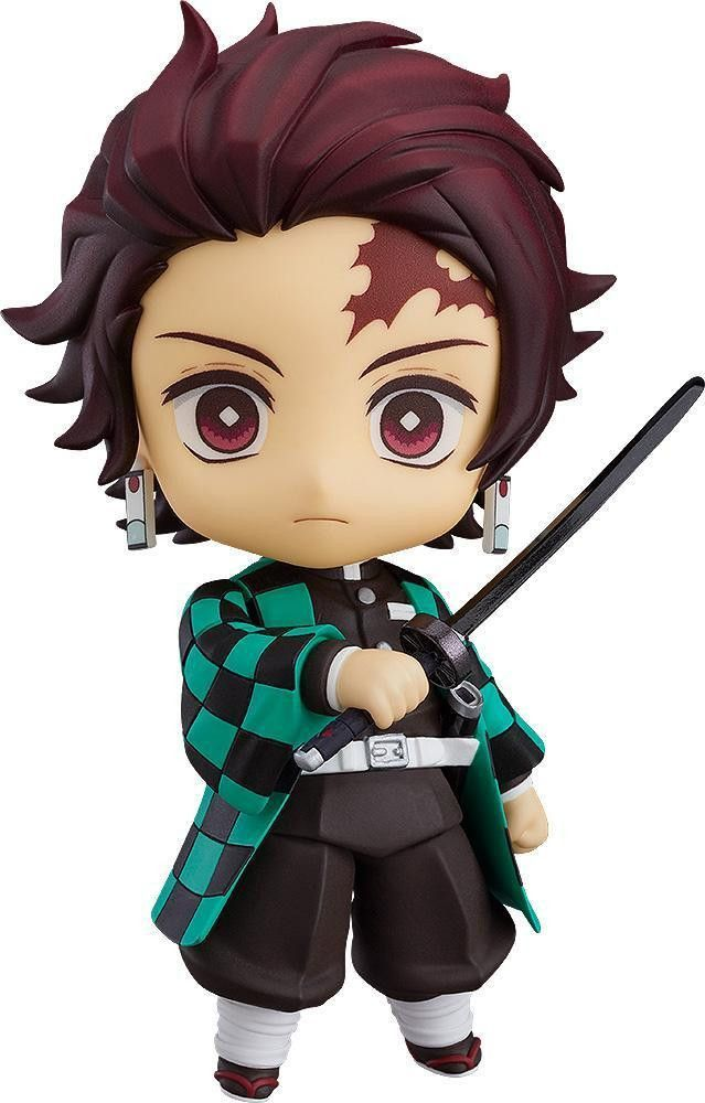 Demon Slayer Tanjiro Fights On As Adorable New Nendoroid Nendoroid Anime Nendoroid Anime Figures