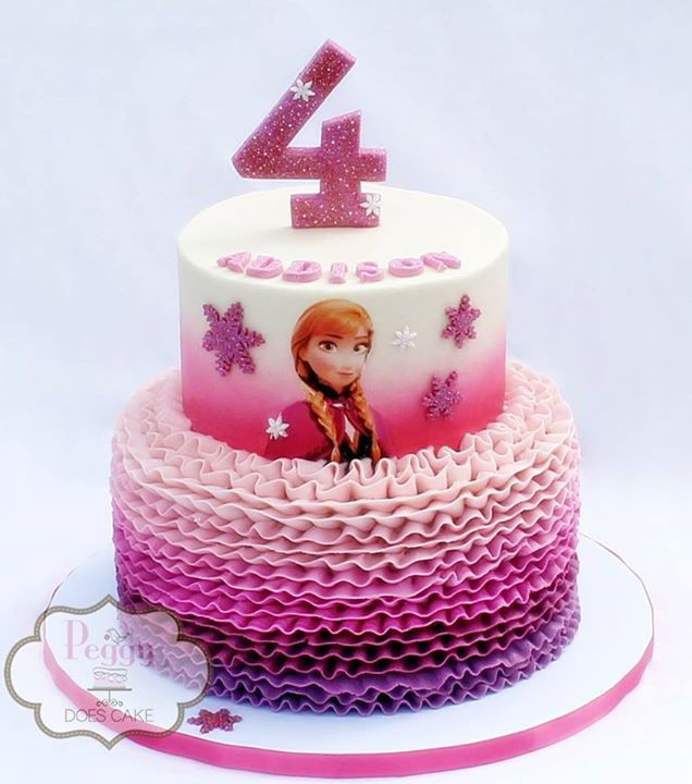 Frozen Anna cake                                                                                                                                                                                 Más