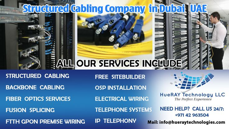 structured cabling company in dubaiHUERAY TECHNOLOGY LLC