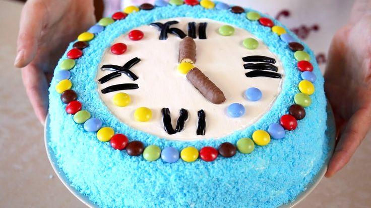 Torta di Compleanno per Bambini ricetta Facile e Divertente - Easy Birthday Cake Decorating