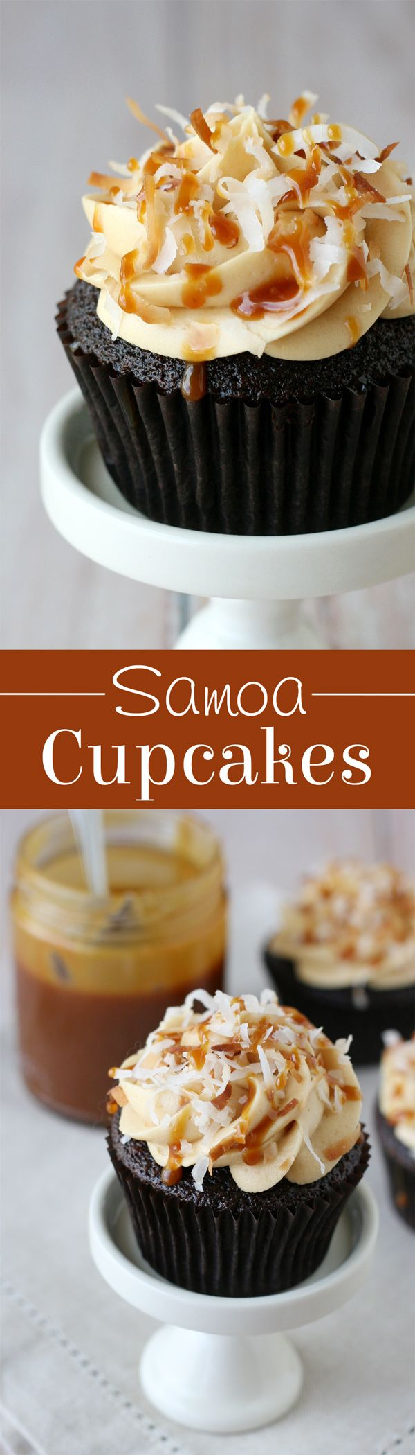 Samoa Cupcakes - Glorious Treats