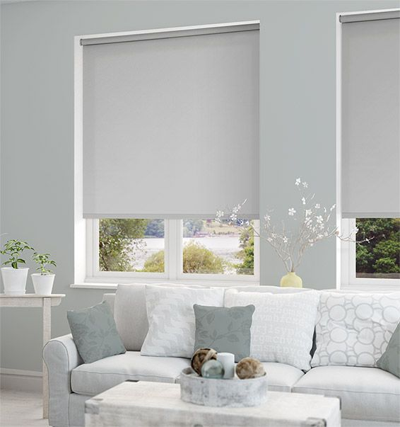 Sevilla Tranquility Grey Blackout Roller Blind Part 48