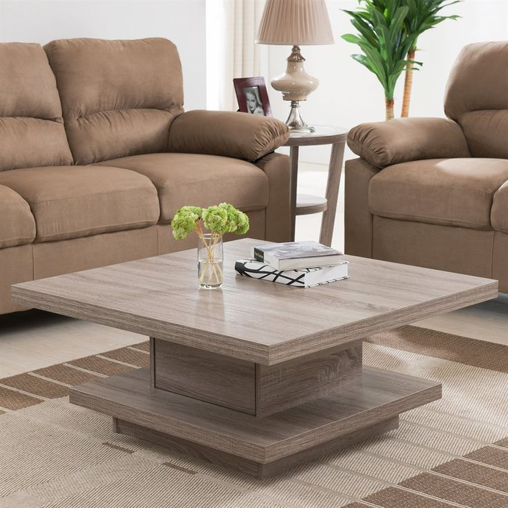 Shop Enitial Lab IDI-15112 Sada Square Coffee Table with Storage at ATG Stores. & 194 best Coffee and End Tables images on Pinterest | Coffee tables ...