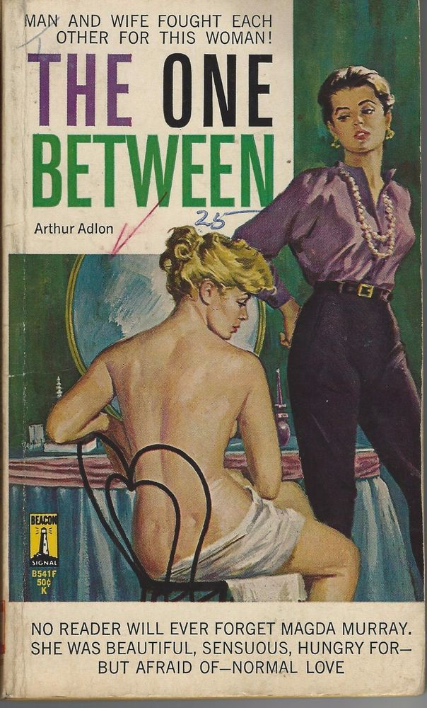 Vintage Sleaze Lesbian Pulp Pb Paperback The One Between