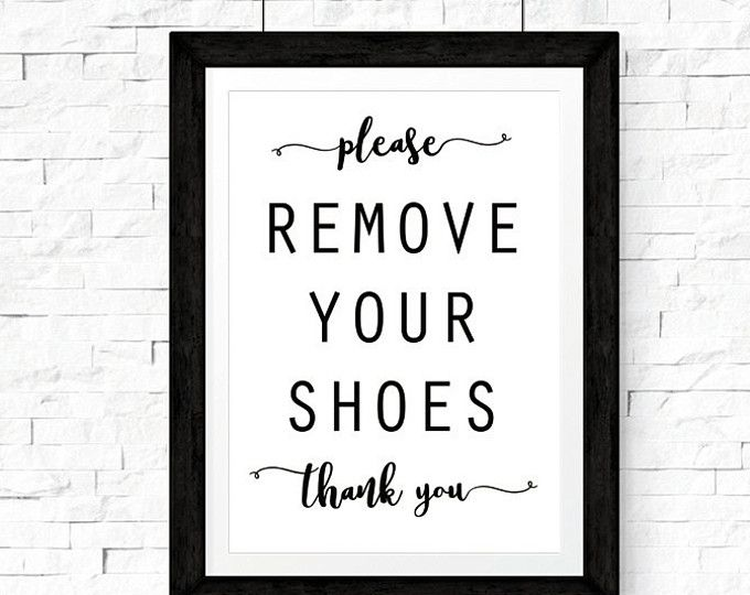 Modern Please Remove Your Shoes Printable Sign Shoes Off Sign Entryway Sign Mud Room Decor