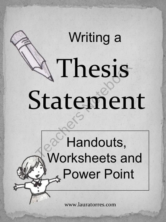 writing a great thesis statement Understanding adequate thesis statement examples in order to get a head start with the essentials of creating a thesis statement to write a great statement.