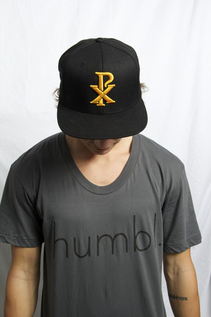 Chi Rho Hat  $28.00 Available in black and white colors  Check out and buy this hat and other humbl collections here http://humblhawaii.com/