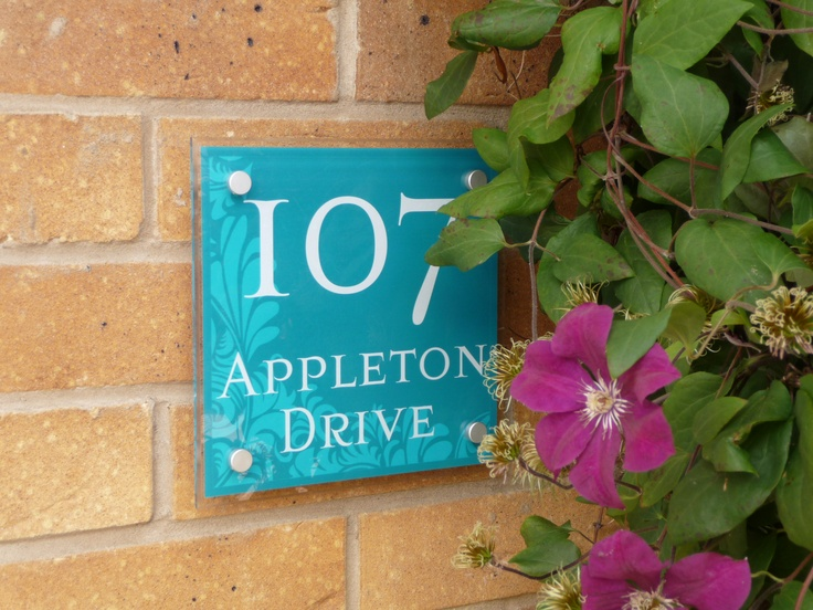 Decorative House Signs. Stunning, Bright And Vibrant Shades.