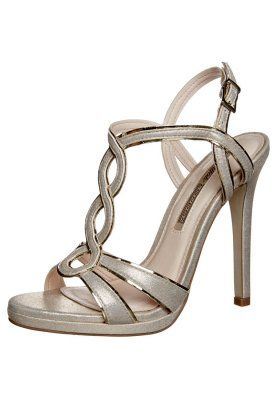 Buffalo High Heel Sandals - peach/gold - Zalando.de