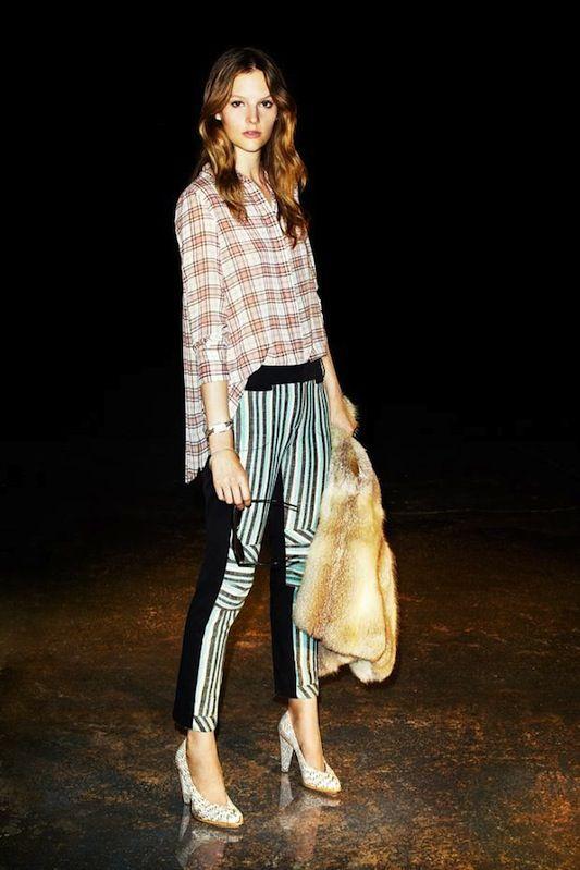 Plaid & stripes