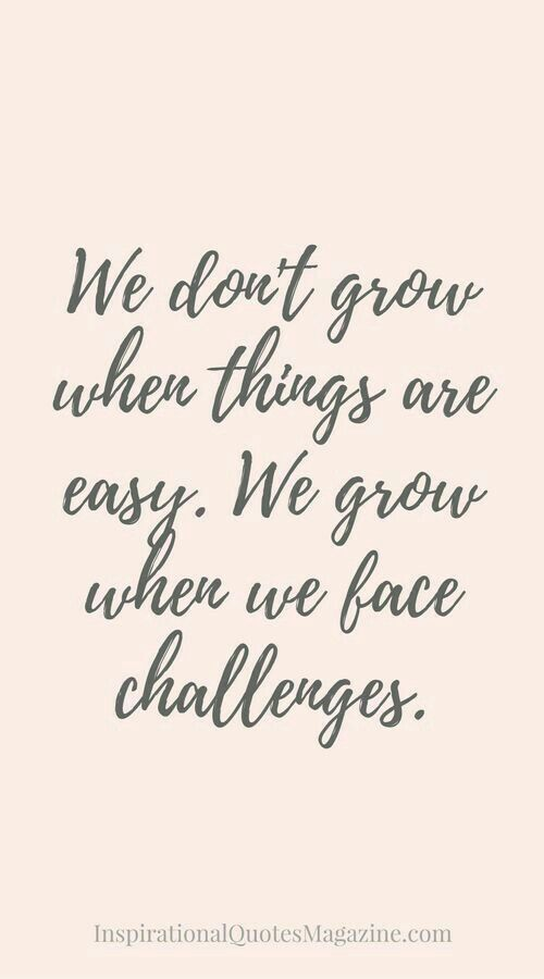 Corporate Confidence:  We don't grow when things are easy.  We grow when we face challenges. #fridaysopen confidence is a mindset.