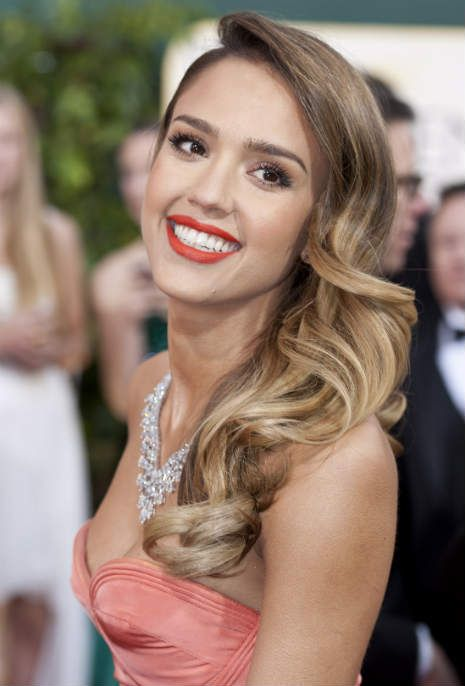 jessica alba. Hair and make up