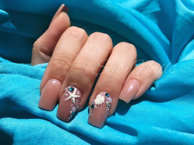 #nails #sabinails #love #summer #sea