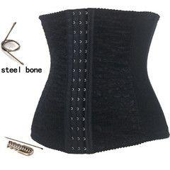 Atomic Black Steel Boned Waist Cincher Corset | Atomic Jane Clothing www.atomicjaneclothing.com