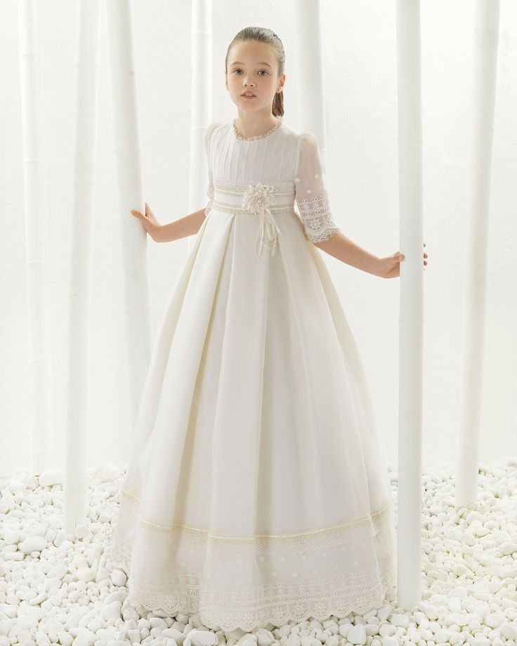 2016 first communion dresses for girls Smooth Satin Ball Gown Flower Girl Dresses  for weddings girls pageant dresses-in Flower Girl Dresses from Weddings & Events on Aliexpress.com | Alibaba Group