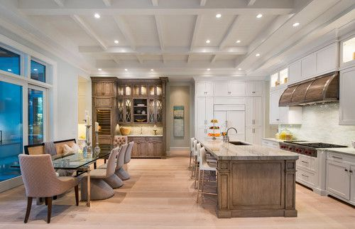 beautiful coastal kitchen naples florida inspired home