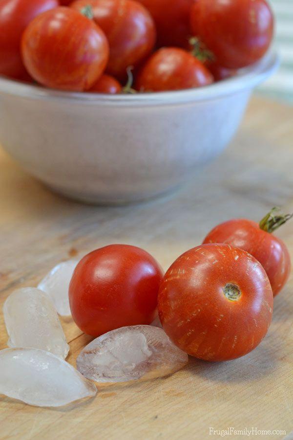 Best 25 Freezing Tomatoes Ideas On Pinterest Freeze Tomatoes How To Freeze Tomatoes And How