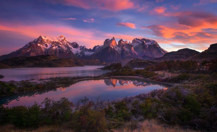 Скачать обои южная америка, патагония, горы анды, раздел пейзажи в разрешении 2048x1251