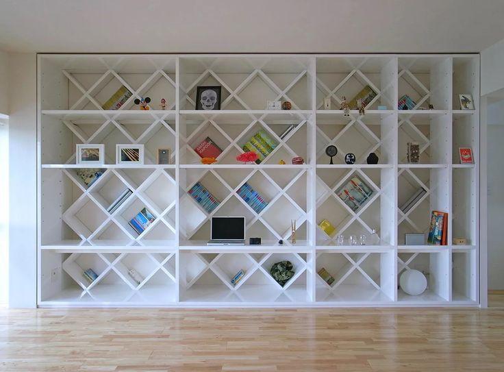 壁面収納で魅せるリノベーション