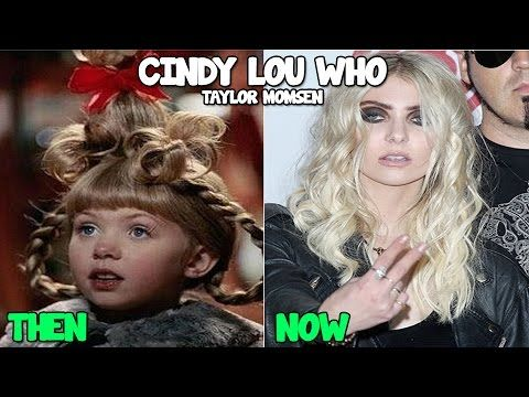 The Grinch Then and Now 2016