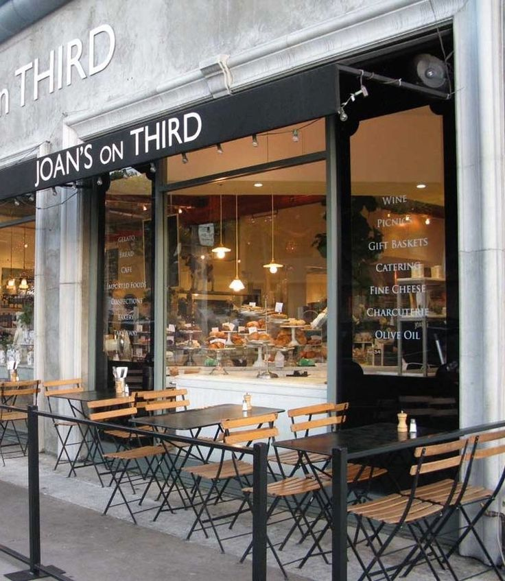 Joan's on Third is special - breakfast & lunch cafe, specialty grocery & deli, bakery, coffee shop, candy store