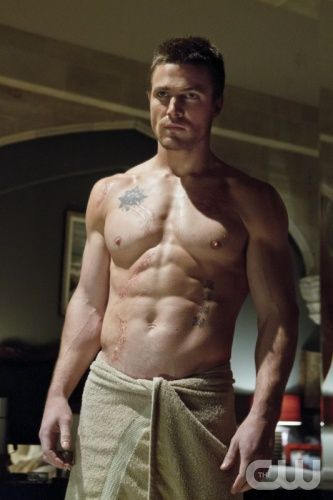 Stephen Amell  I have the worst crush on him