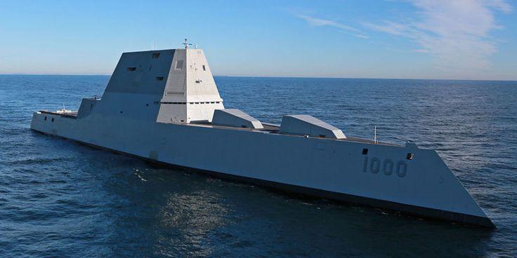 The Navy's Stealthy, High-Tech USS Zumwalt Just Broke Down