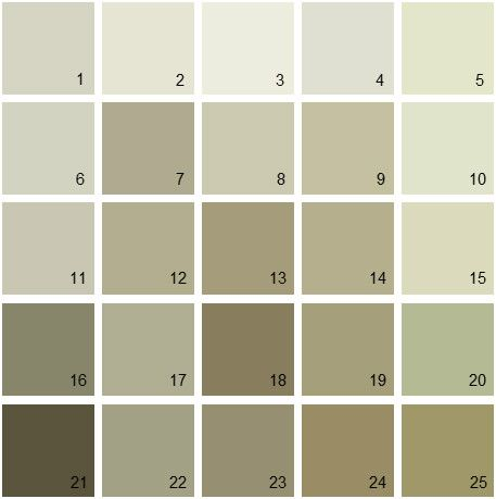 1000 images about color proofing experimentation on Green grey paint benjamin moore