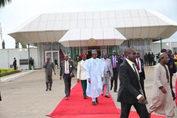 Buhari heads for Republic of Benin in Boko Haram talks.