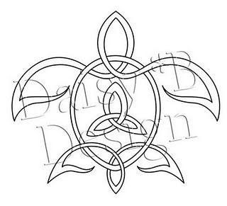 Celtic knot turtle (2 of my favorite things combined!)