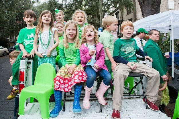 St. Patrick's Day celebration at Judge Realty.