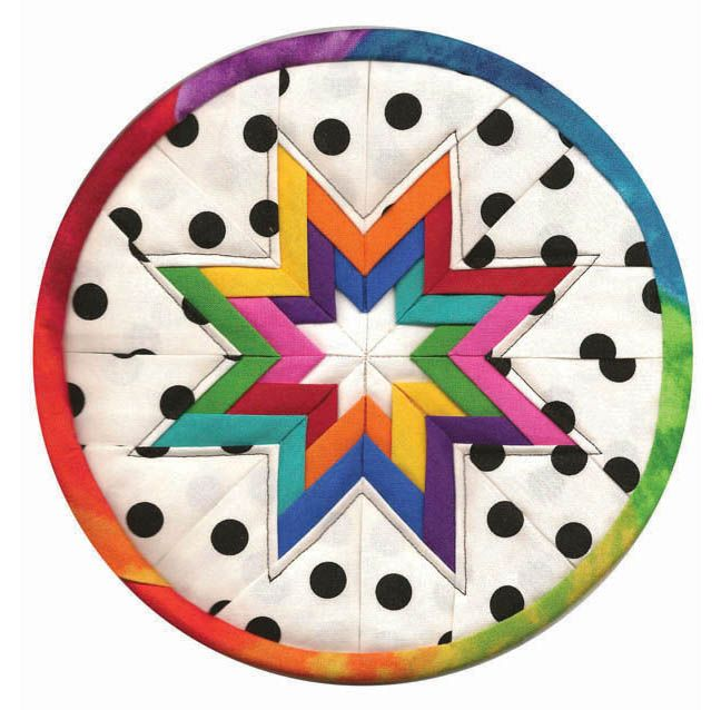 645 best lenceria de cosina images on pinterest sewing projects plumeasy patterns folded star potholder tutorial using templates fandeluxe Gallery