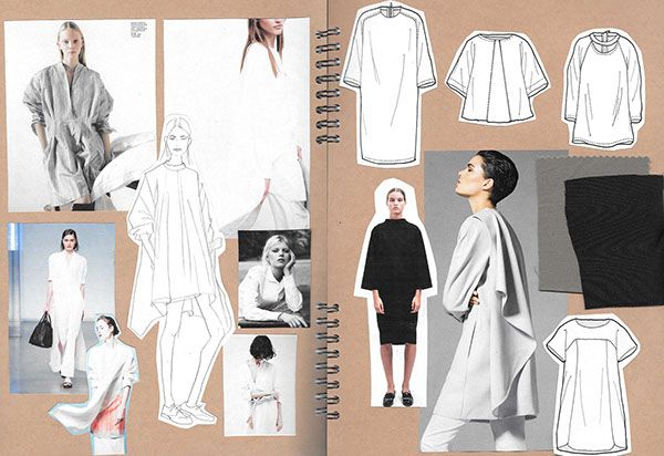 Sketchbook - Womenswear on Behance